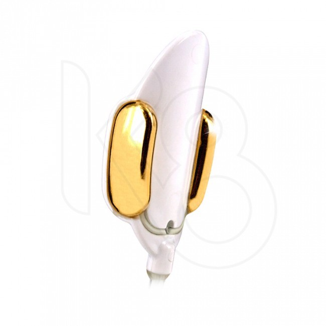 Kegel8 Gold Glide vaginalinis zondas be nikelio
